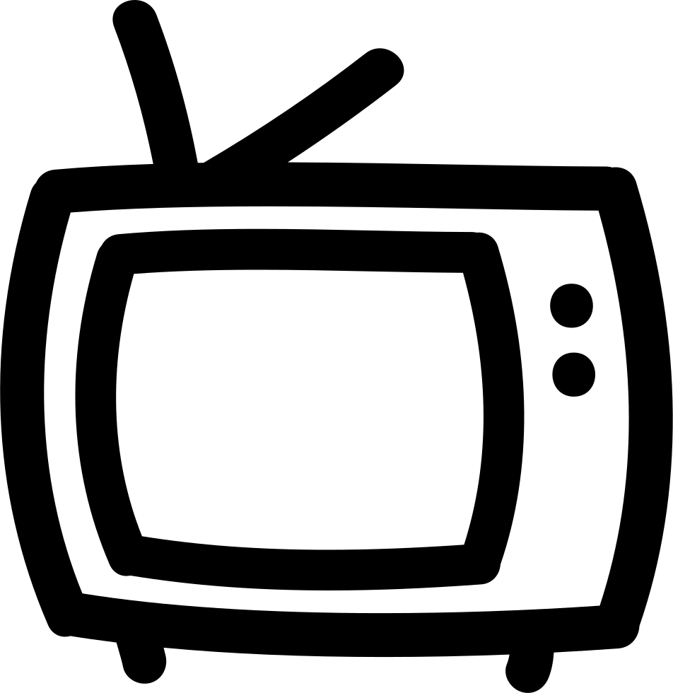 outline on television and children