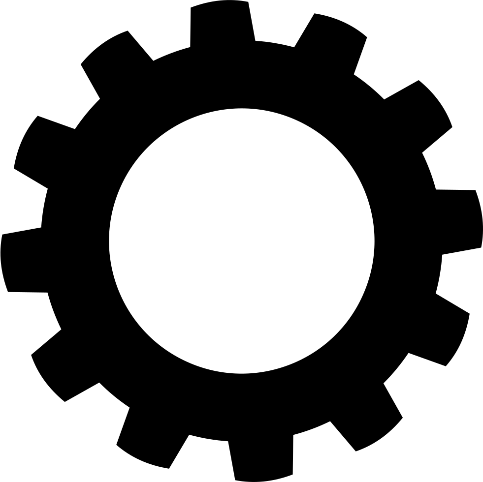 Gear Icon Png Transparent | www.imgkid.com - The Image Kid ...