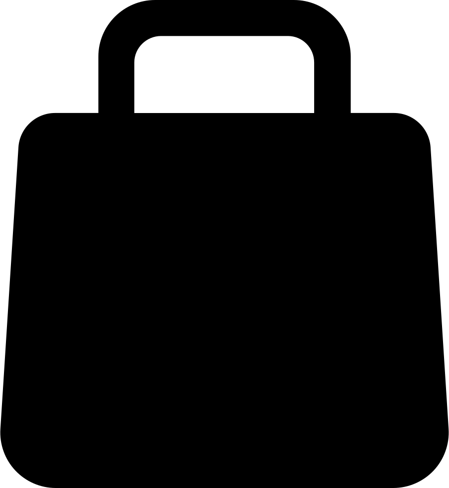 Shopping Bag Silhouette Svg Png Icon Free Download (#18063 ...