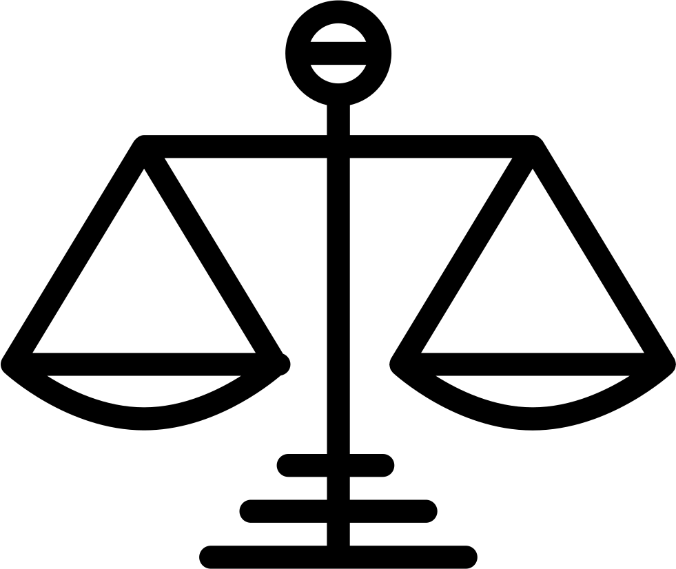 Scale Symbol Of Justice Svg Png Icon Free Download (#19466 ...