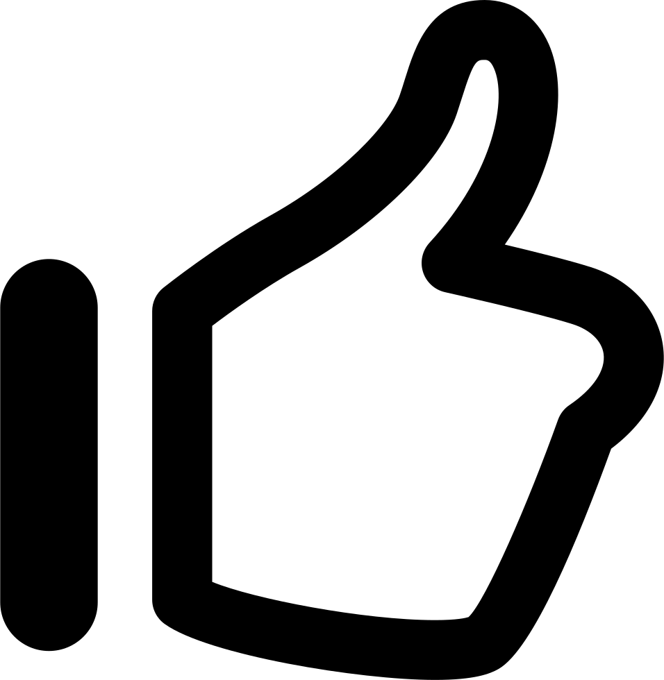 Thumbs Up Svg Png Icon Free Download 225372