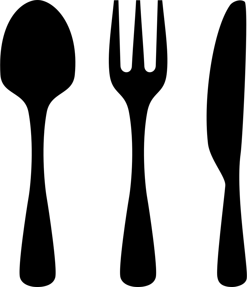 Knife And Fork Empty Svg Png Icon Free Download (#326929 ...