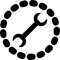 Draggable icon dots
