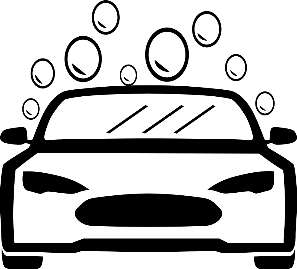 Car Wash Business: Large Simplified Version Of The Car Wash Svg Png Icon Free