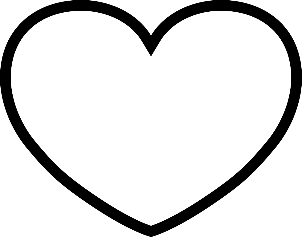 Ios Heart Outline Svg Png Icon Free Download (#411621 ...