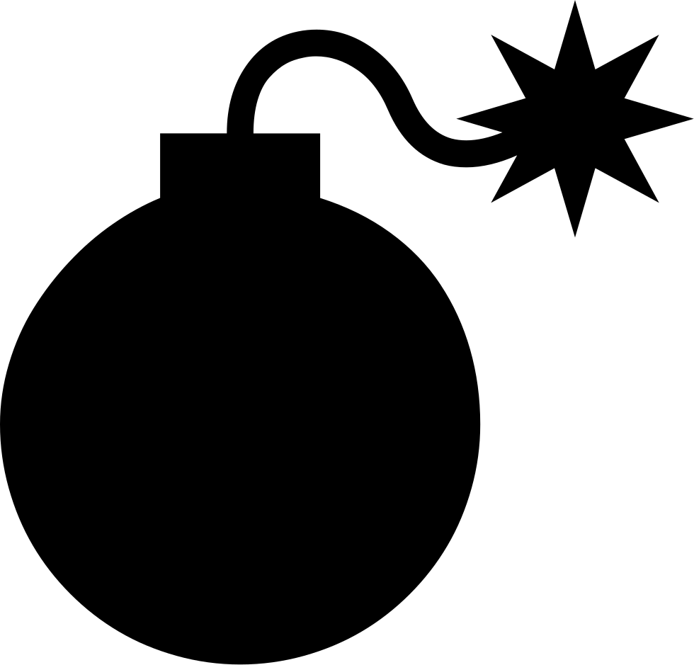bomb svg png icon free download   425540