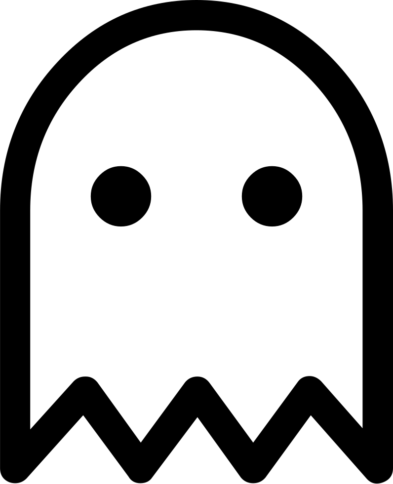 ghost svg png icon free download 428489