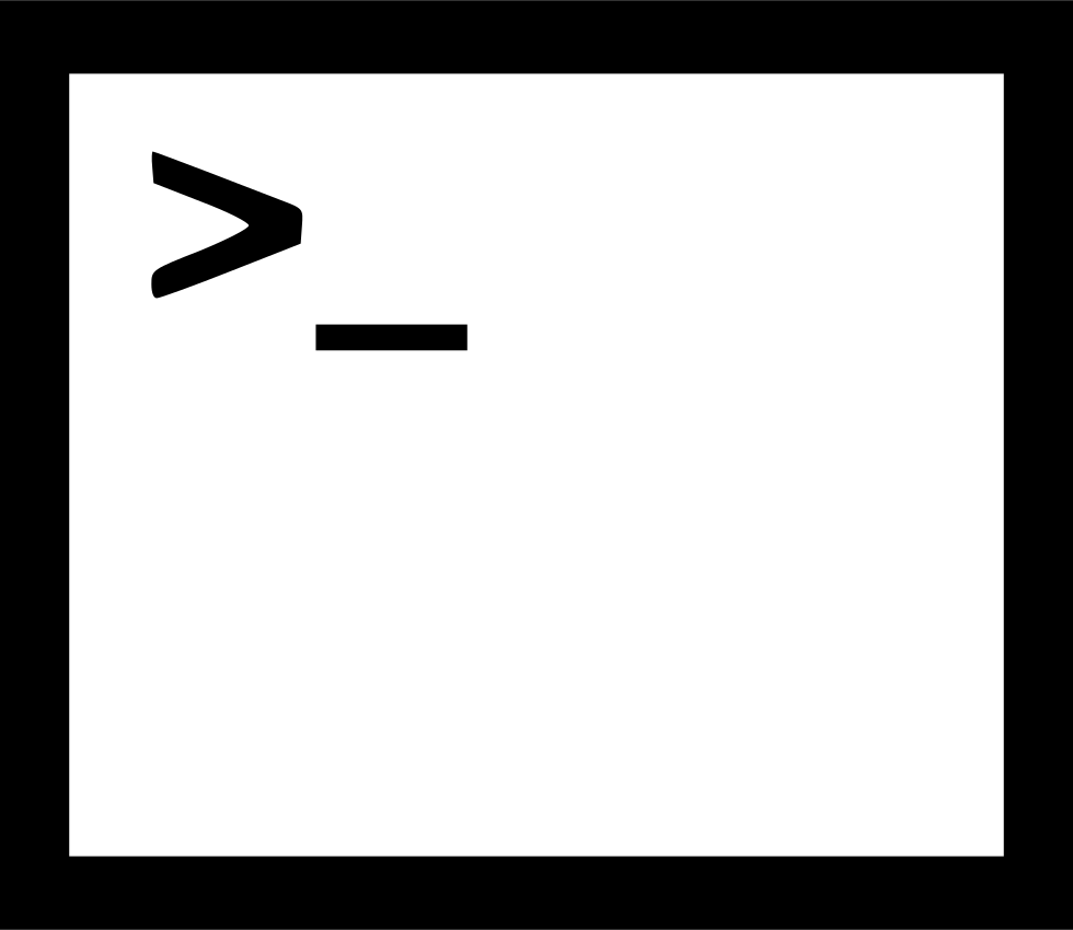 Command Prompt Svg Png Icon Free Download (#433397
