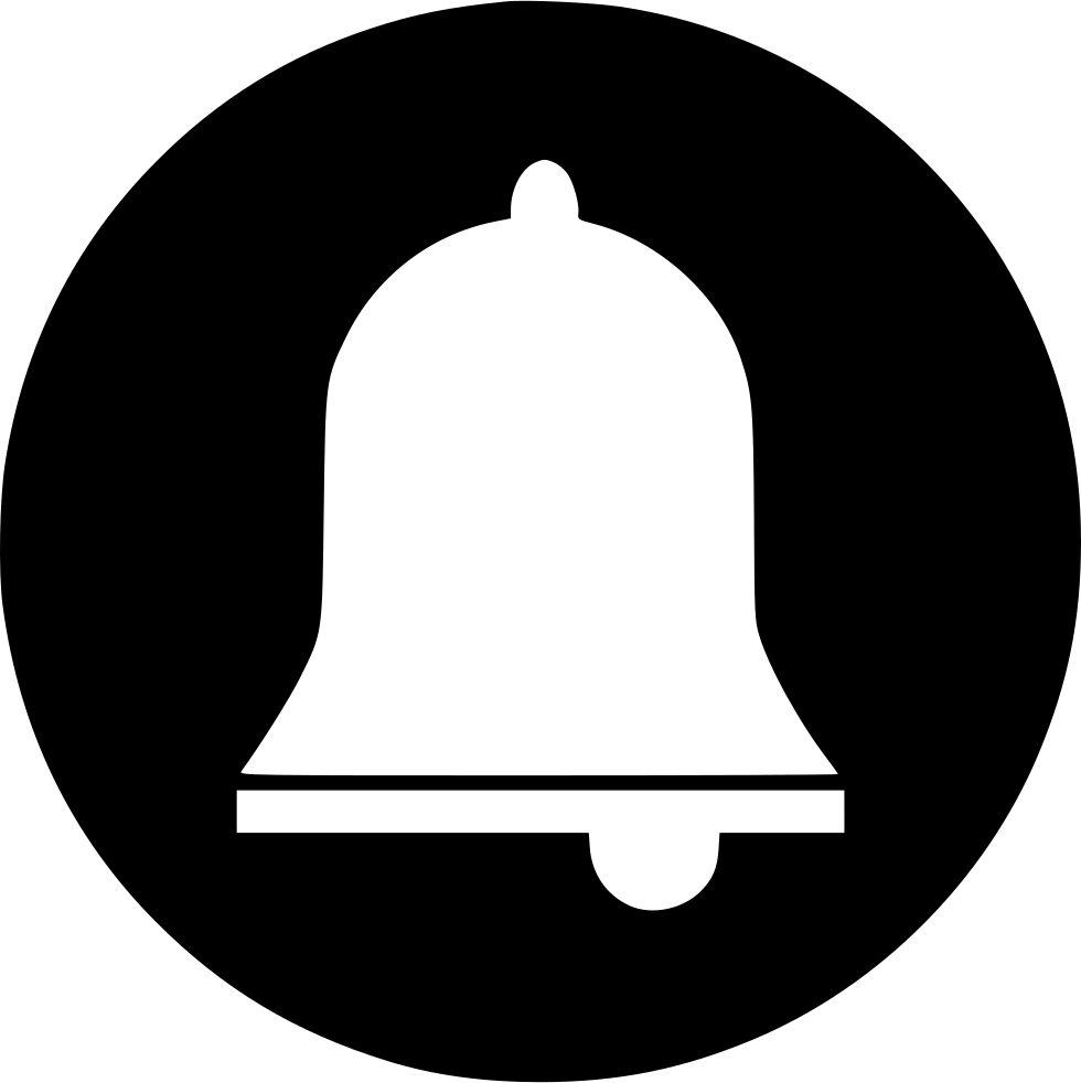 Alarm Alert Bell Notification Bulletin Ring Sound Svg Png ...