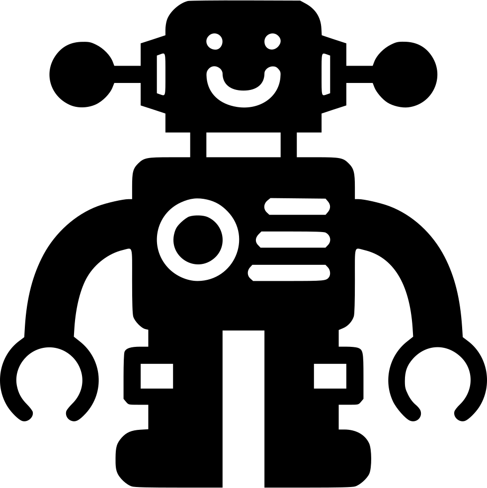 Toy Robot Svg Png Icon Free Download (#441576 ...