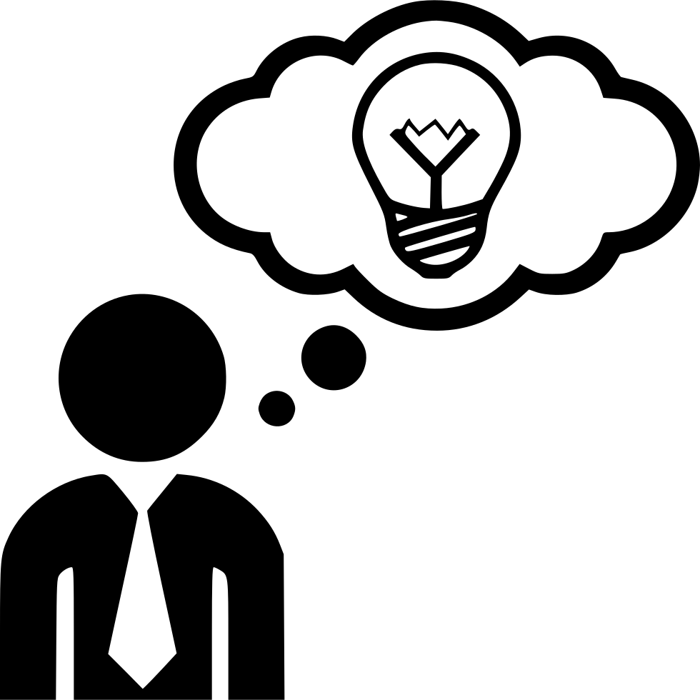 Idea Think Thinking Man Svg Png Icon Free Download ...