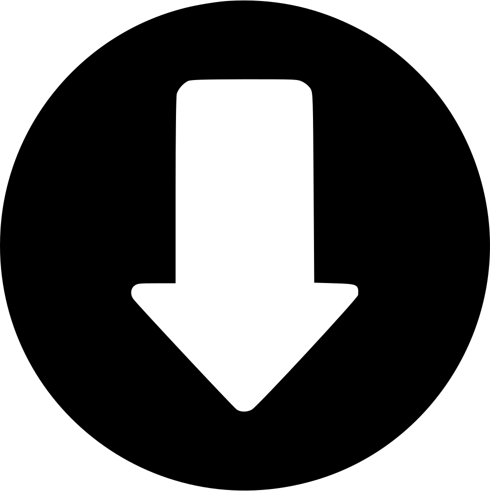 downside arrow download decrease svg png icon free