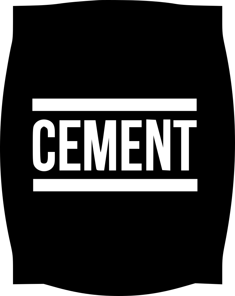 Cement Bag Svg Png Icon Free Download (#455546 ...