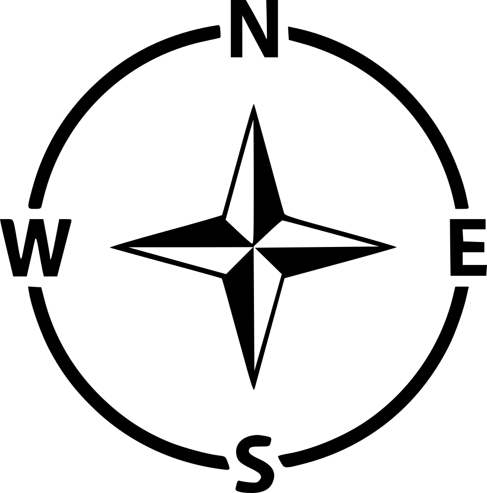 Compass Navigation Arrow Direction Gps West East North ...