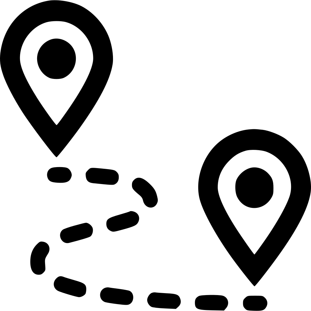Route Pin Gps Map Marker Navigate Navigation Plan Road Svg Png – Road Navigation Map