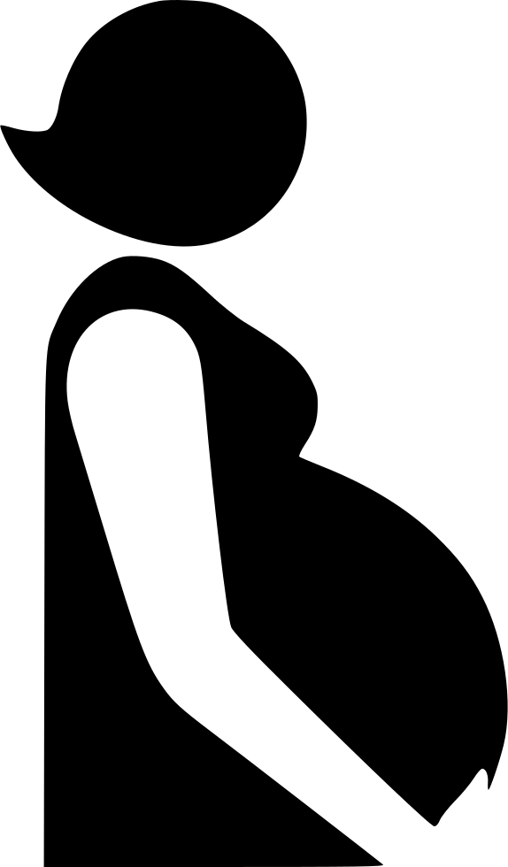 pregnant woman solid svg png icon free download 494041