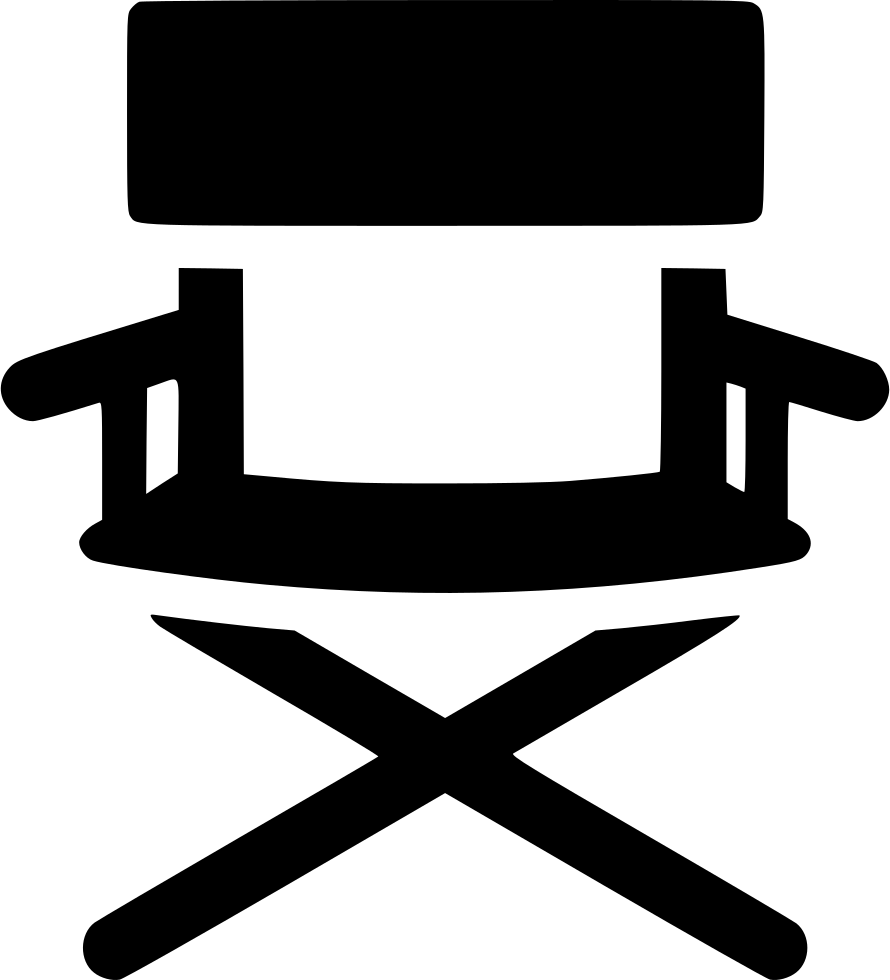 Directors chair png - Png File Svg