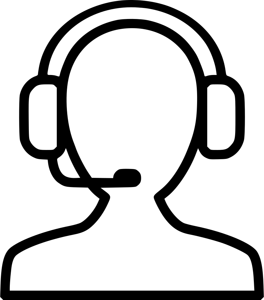 Operator Support Receptionist Help Headset Svg Png Icon Free Download   507470