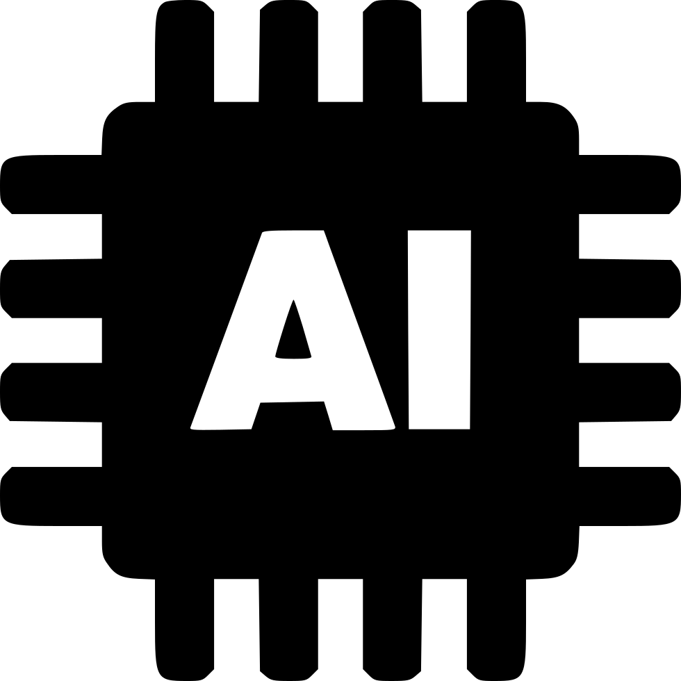 artificial intelligence svg png icon free download