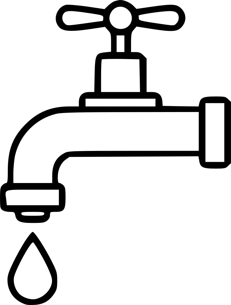 Dripping Tap Drop Water Economy Watertap Bath Svg Png Icon ...