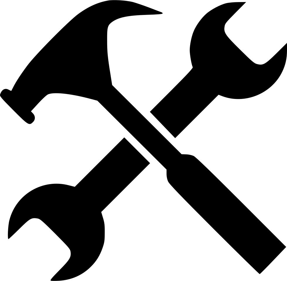 gear hammer job options service setting system tool tools work png file