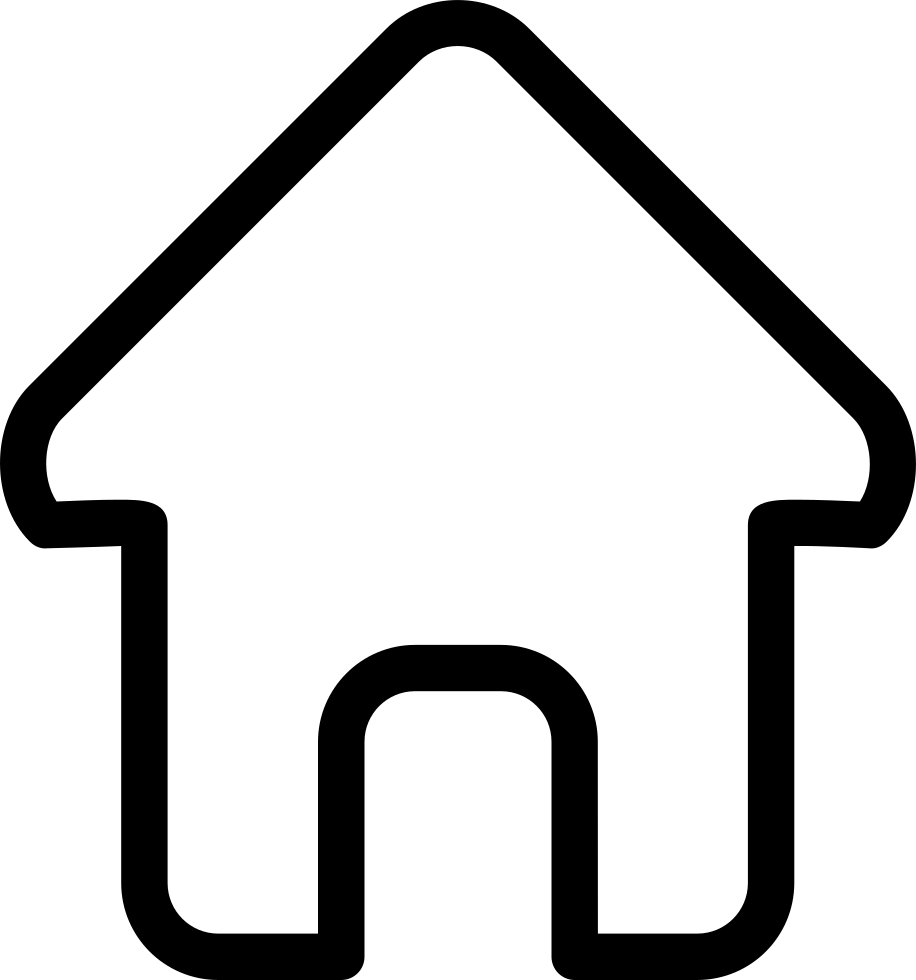 House outline picture - Png File
