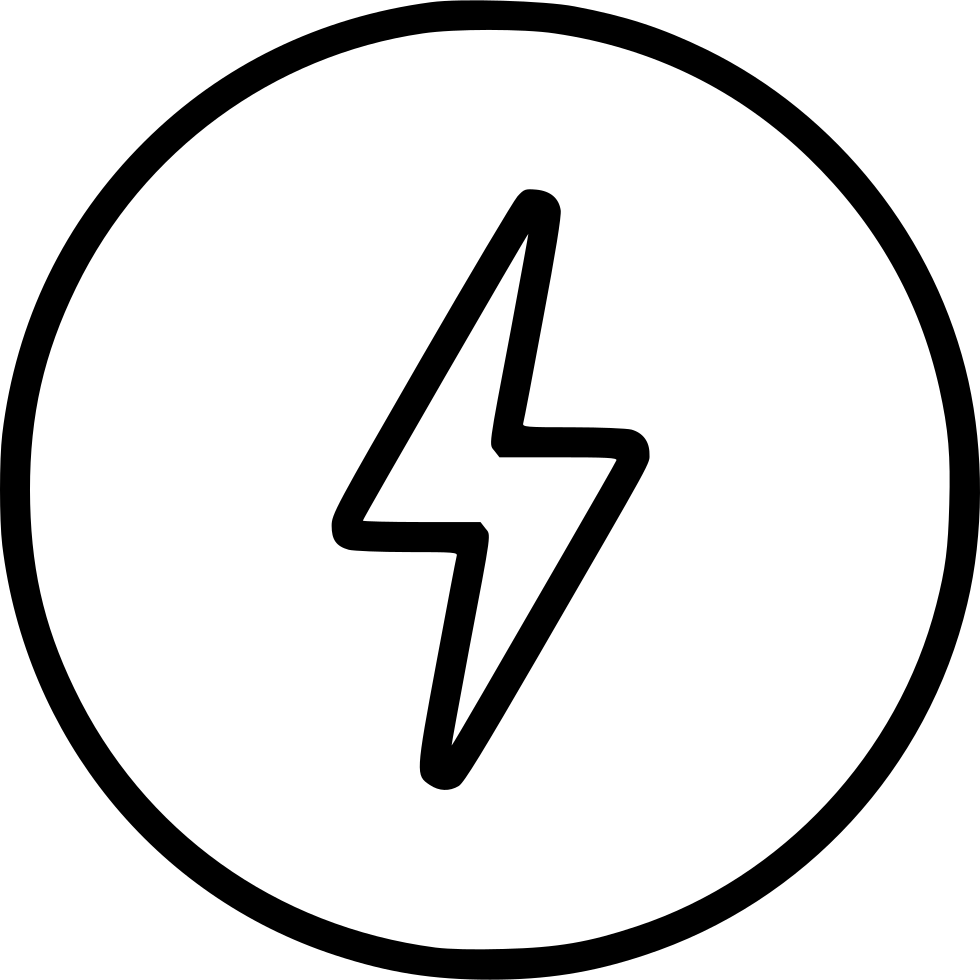 bolt thunder speed charge energy fast charging svg png