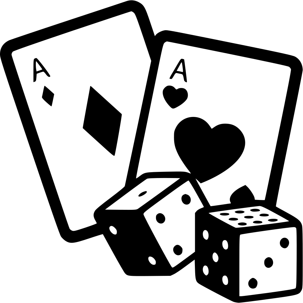 game gambling casino cards dice svg png icon free download