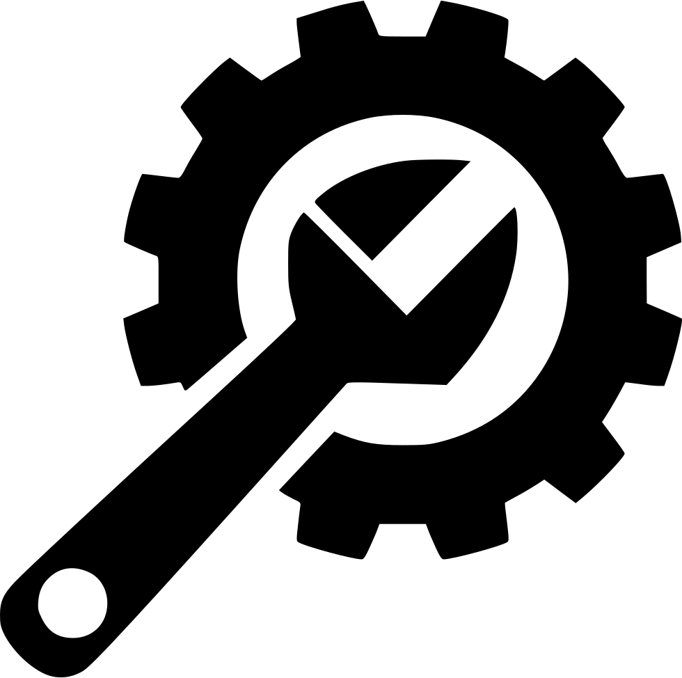 Gear Hard Repair Fix Wrench Svg Png Icon Free Download