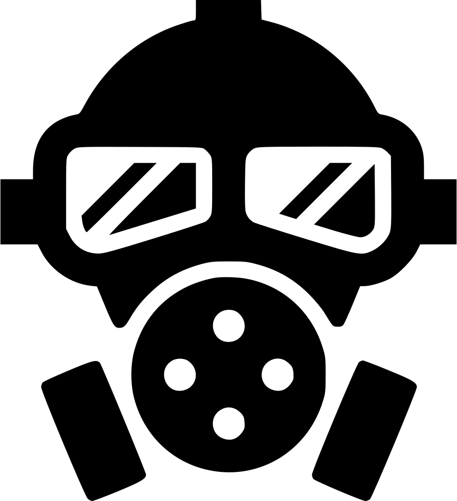 Gas Mask Poison Toxic Svg Png Icon Free Download (#561434 ...