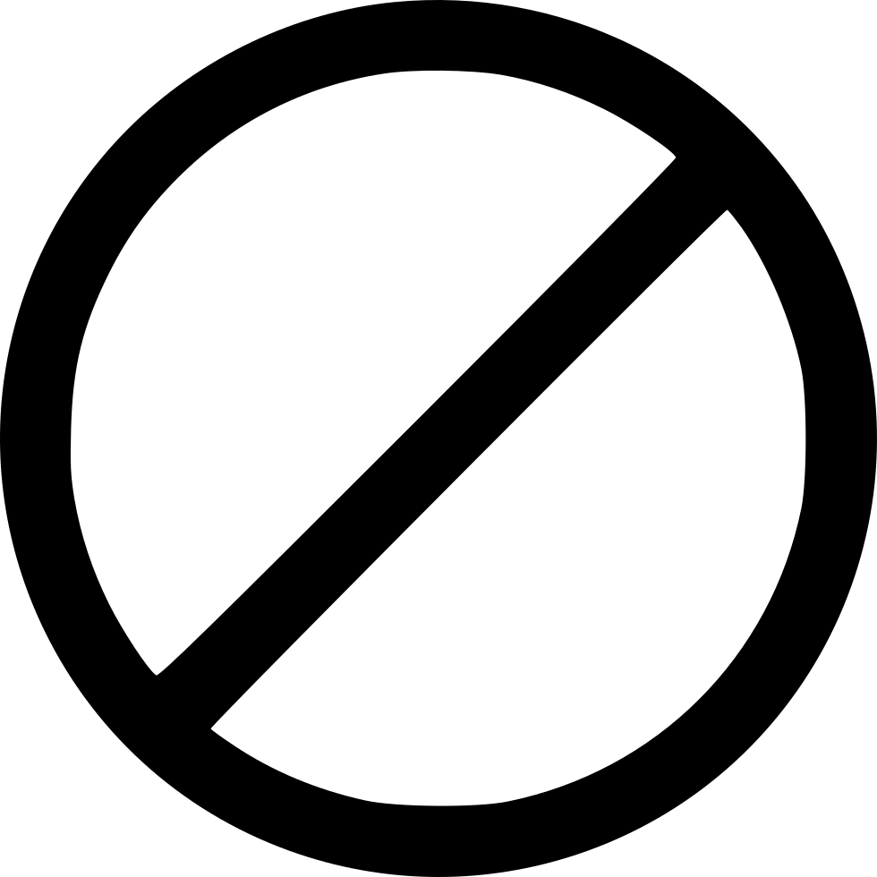 no entry sign svg png icon free download 566996