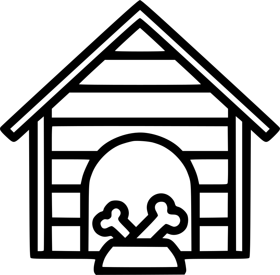 Aninimal Book: Dog House Svg Png Icon Free Download (#568673 ...