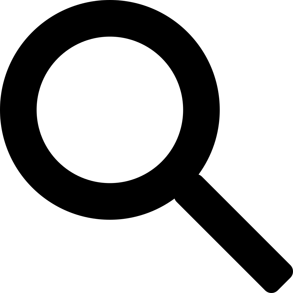 search zoom magnifier magnifying glass svg png icon free