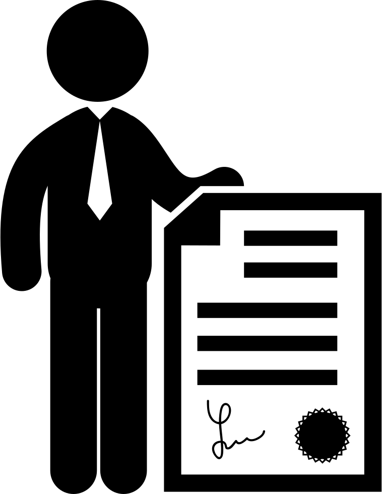 business person graphic