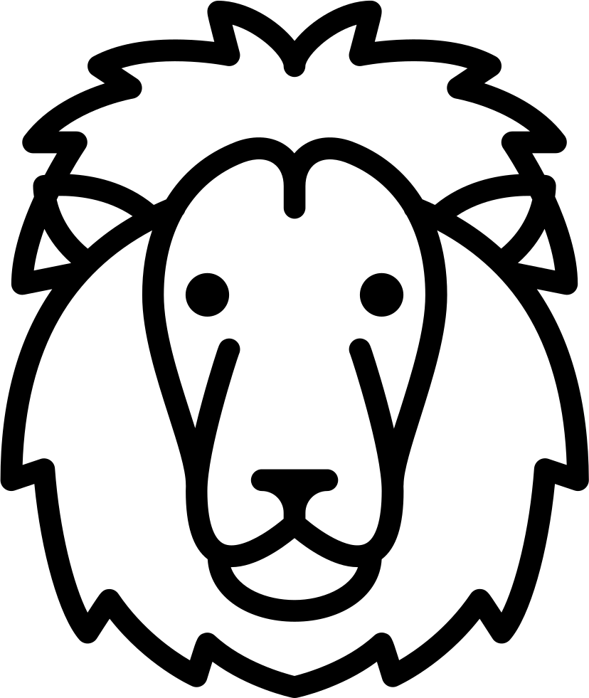 Download Lion Head Svg Png Icon Free Download (#73527 ...