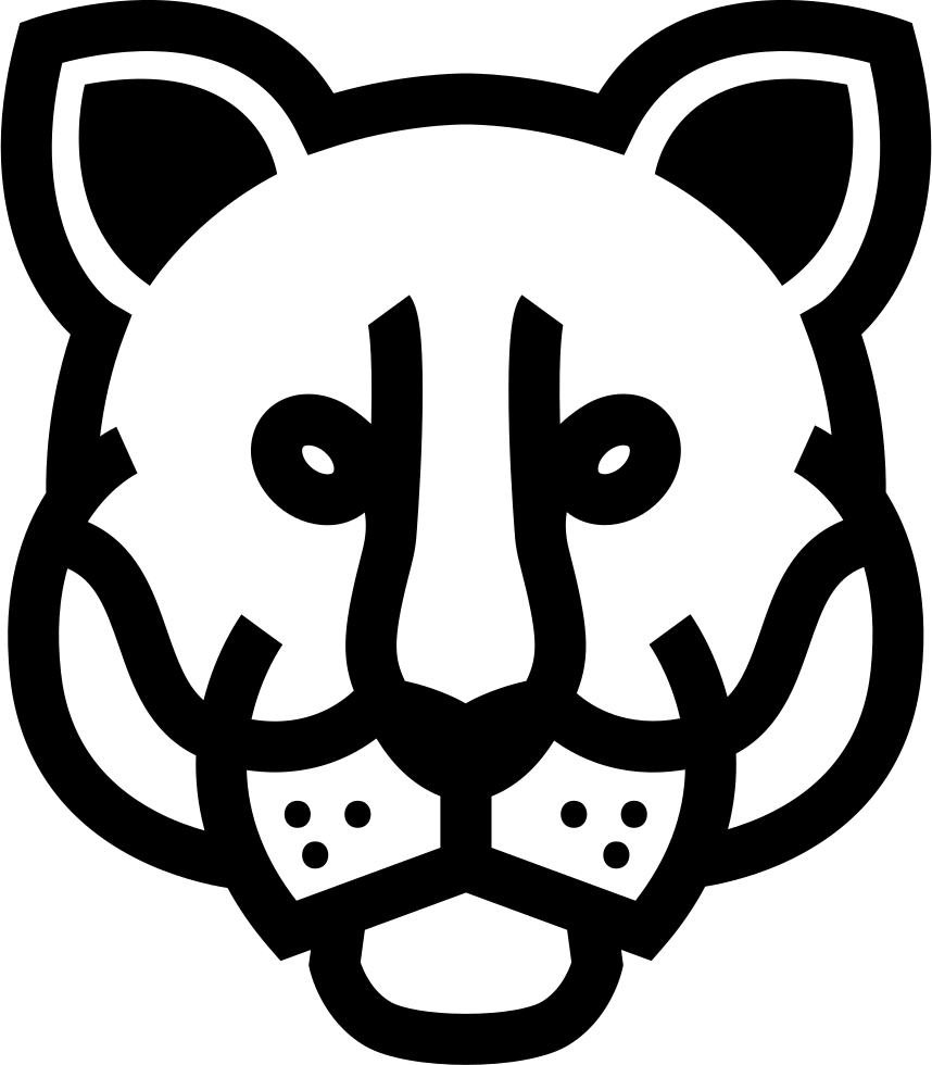 Download Lion Frontal Head Svg Png Icon Free Download (#74131 ...