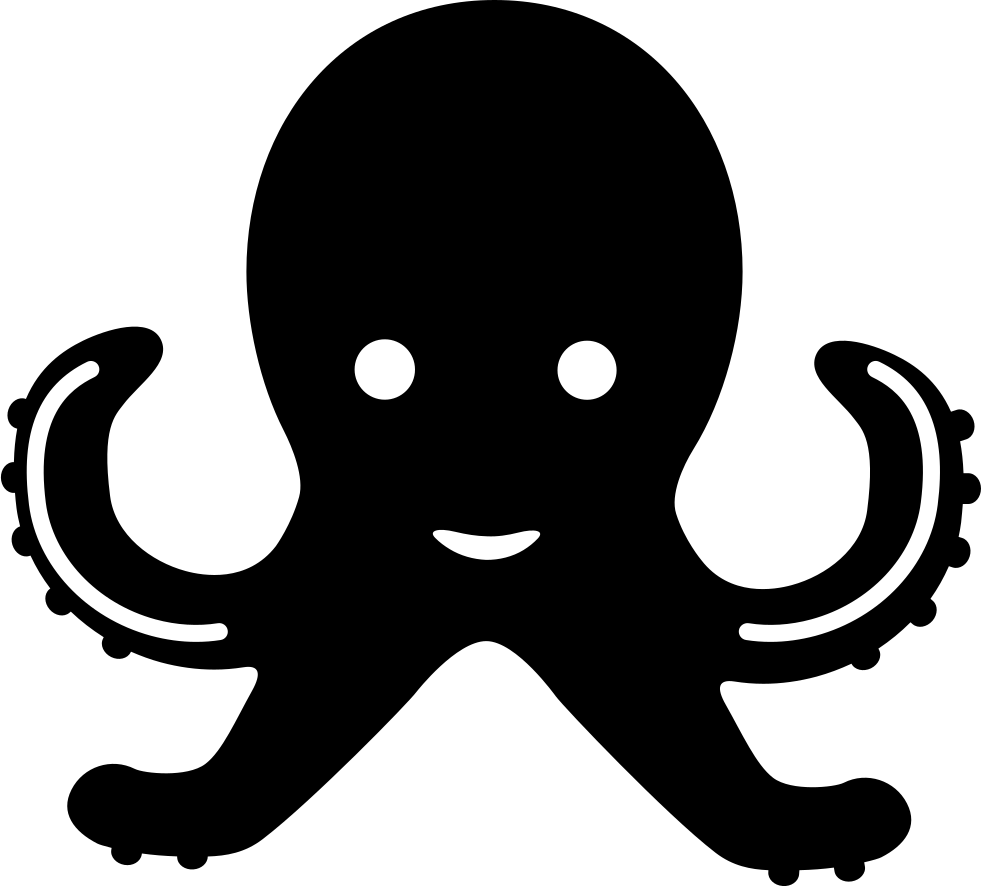 Octopus Svg Png Icon Free Download (#74427 ...