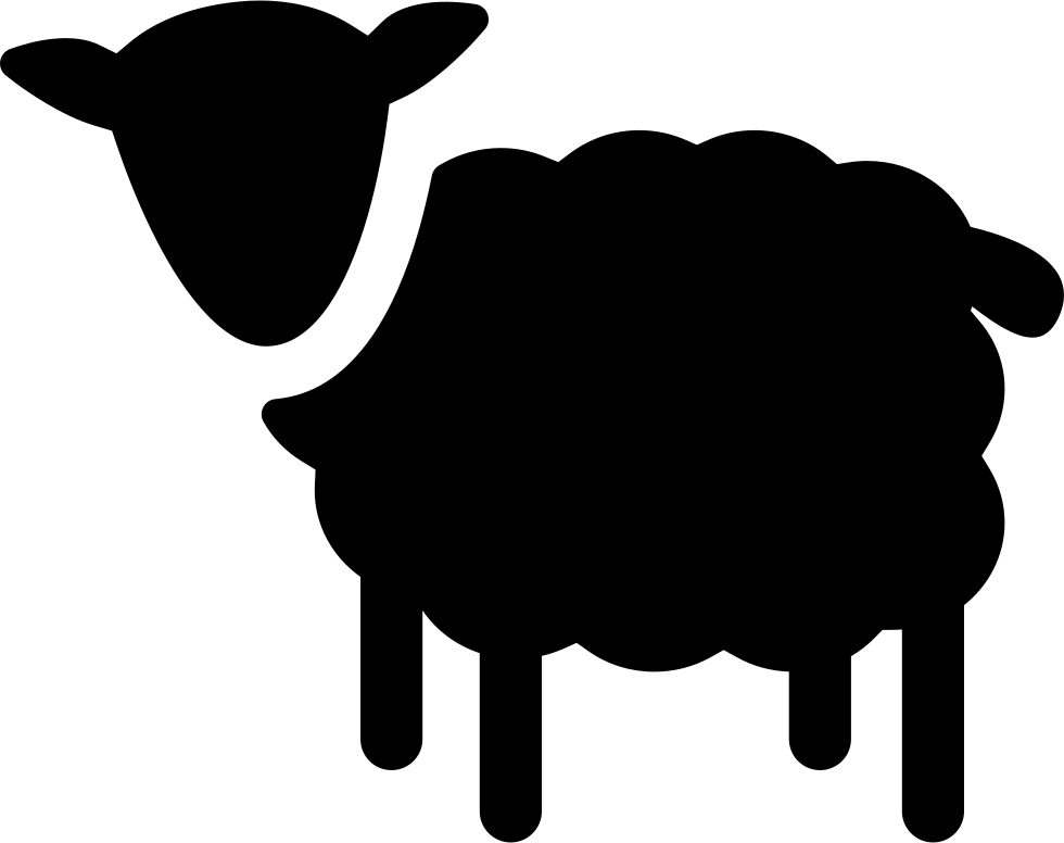 Sheep Silhouette Svg Png Icon Free Download (#74710 ...