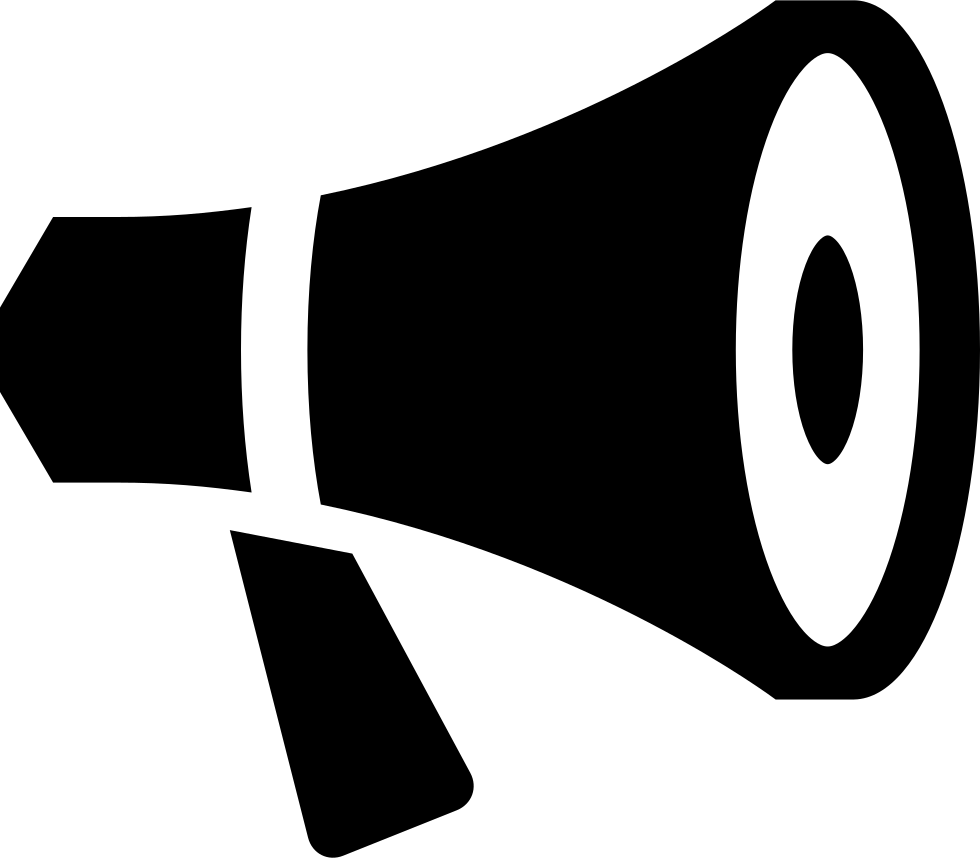 bullhorn megaphone announcement advertisement news svg png winter clothes clipart black and white winter clothing clip art free