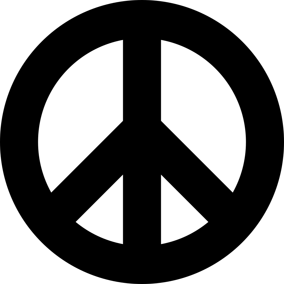 Peace Svg Png Icon Free Download (#104046) - OnlineWebFonts COM