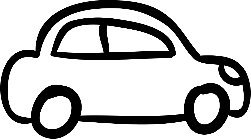 Car Outlined Vehicle Side View Svg Png Icon Free Download