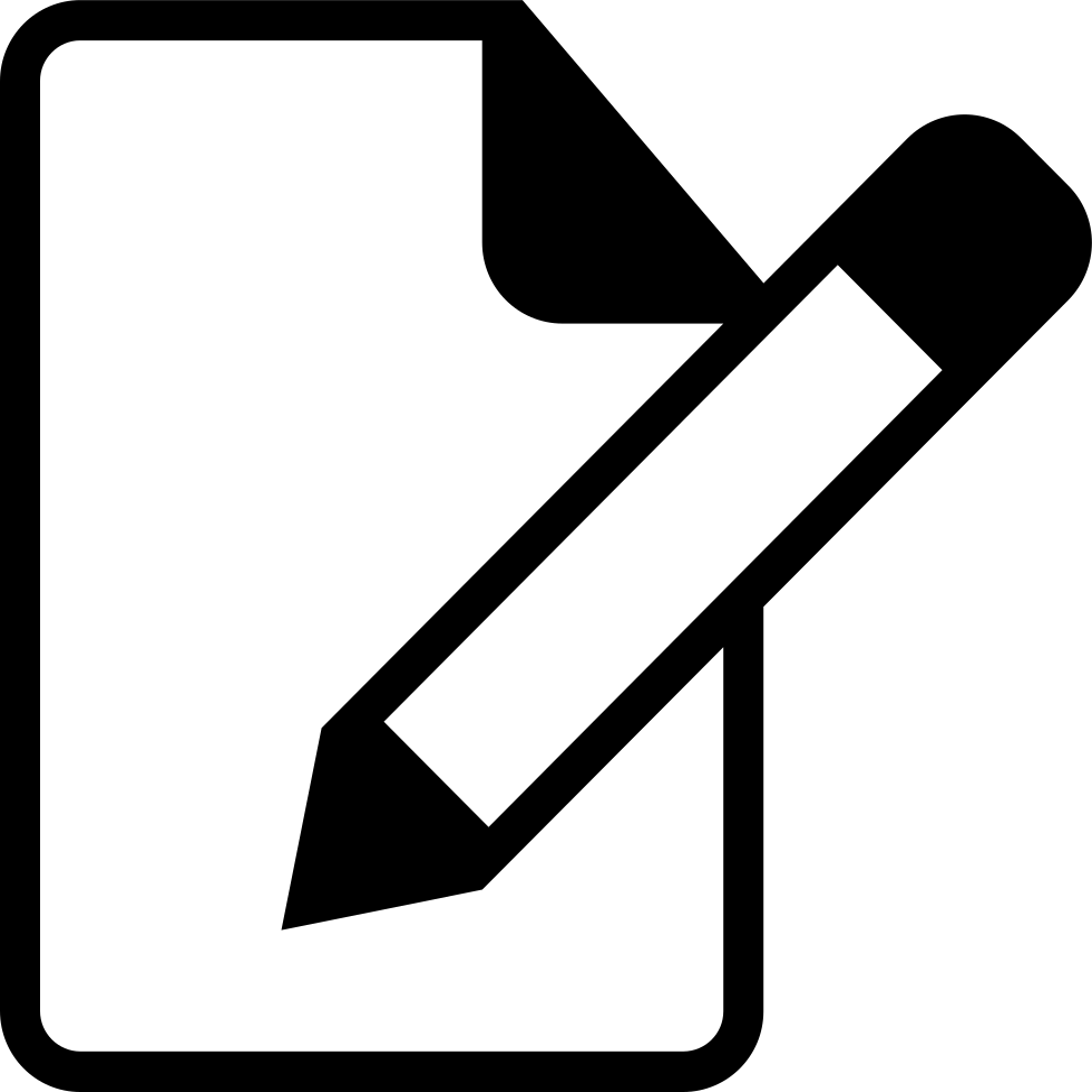 edit resume svg png icon free download   122206