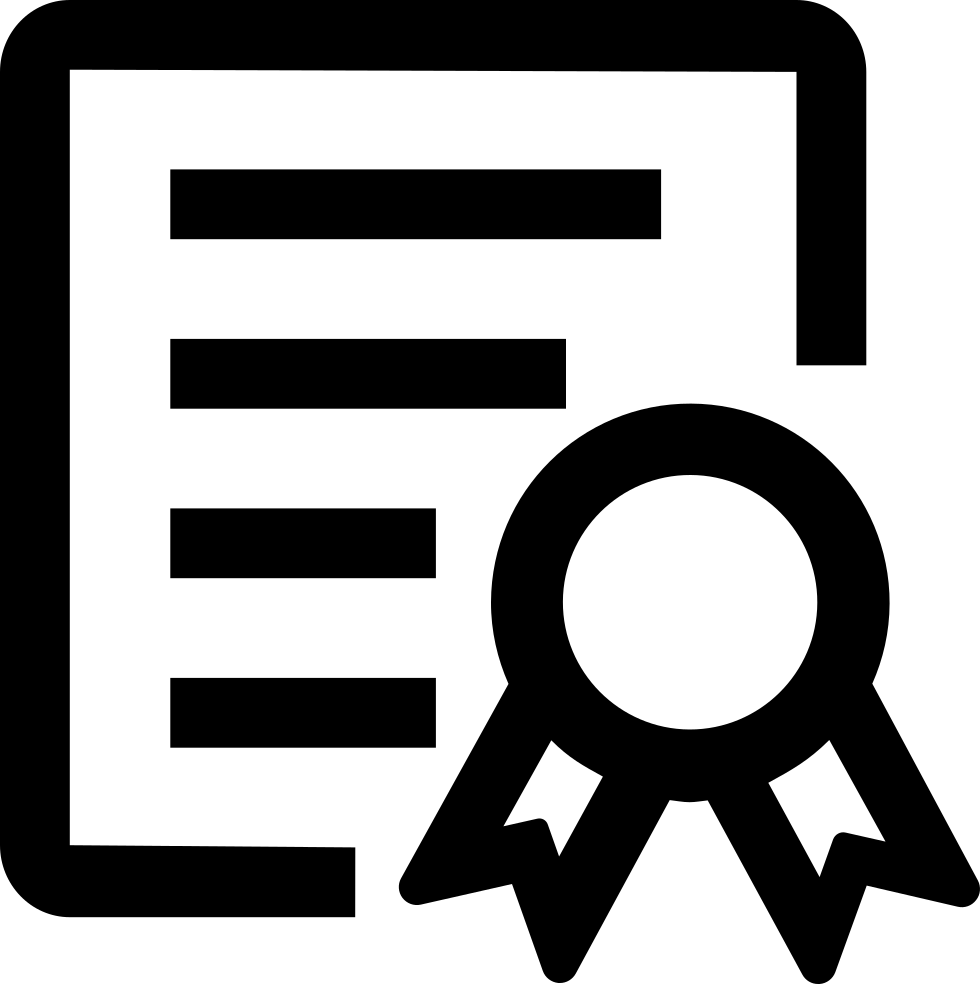 Icons Trading Error Log: Certificate Of Honor Svg Png Icon Free Download (#122918