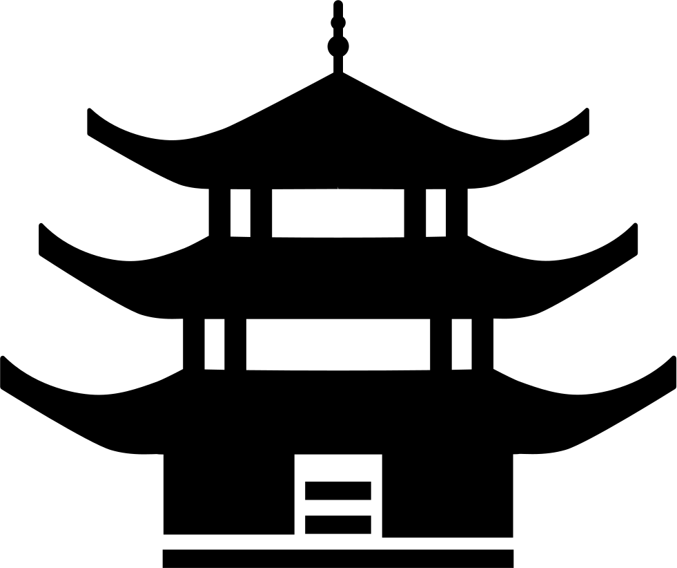 Chinese architecture svg png icon free download 124004 png file svg buycottarizona Image collections