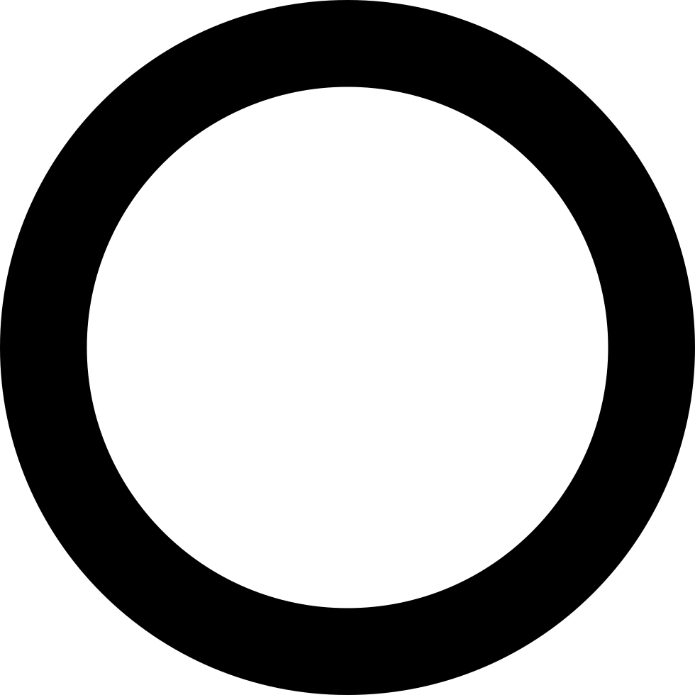 Circle Hollow Svg Png Icon Free Download (#124076 ...