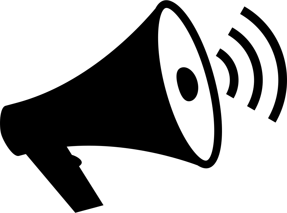 LoudSpeaker With Sound Waves Svg Png Icon Free Download