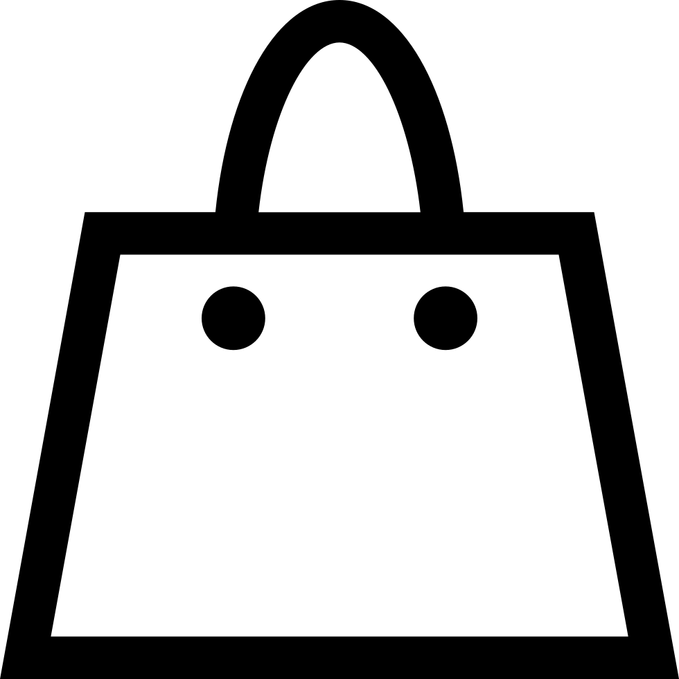 Bag Outline Svg Png Icon Free Download (#12991 ...