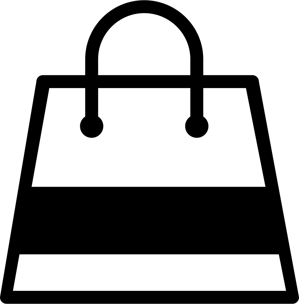 Shopping bag with a gross stripe svg png icon free download png file biocorpaavc