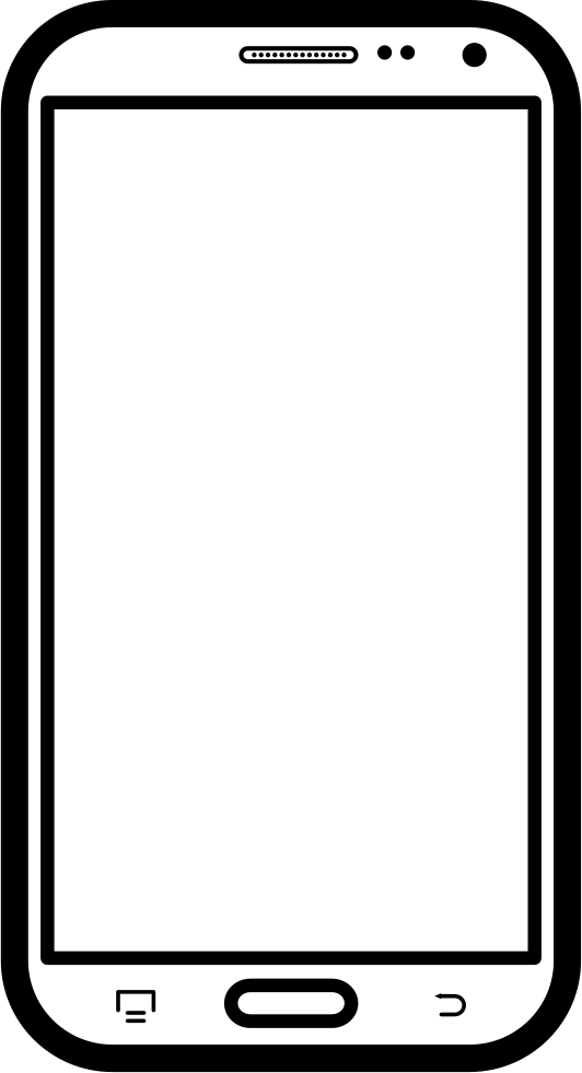 Mobile phone template vector | free download.