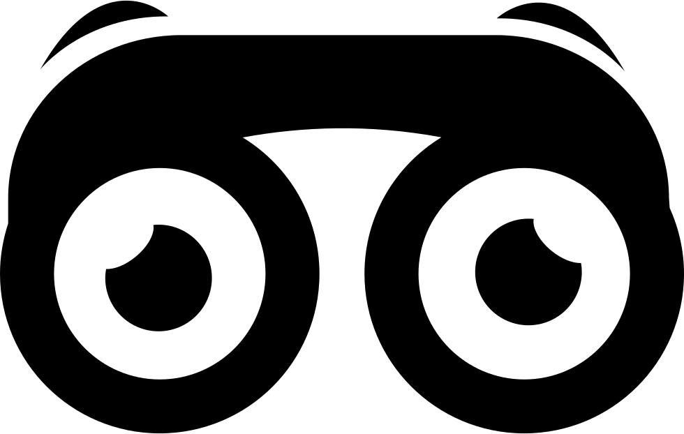 Binoculars With Eyes Svg Png Icon Free Download (#15000